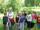 Waldspiel der 2 Klassen 10