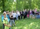 Waldspiel der 2 Klassen 8