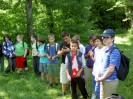 Waldspiel der 2 Klassen 9